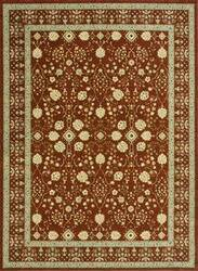 Loloi Stanley ST-14 Rust Area Rug