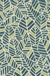 Loloi Tropez Tz-05 Blue / Green Area Rug