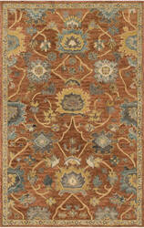 Loloi Underwood Un-01 Rust - Gold Area Rug