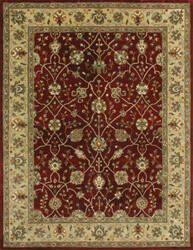 Loloi Yorkshire YK-04 Red / Light Gold Area Rug