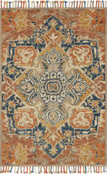 Loloi Zharah Zr-10 Rust - Blue Area Rug