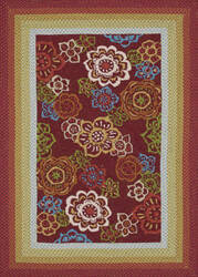 Loloi Zamora Zm-04 Red Area Rug