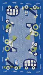 Loloi Zoey Zo-02 Blue - Green Area Rug
