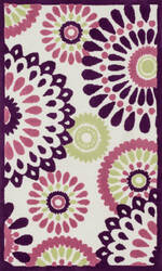 Loloi Zoey Zo-06 Purple - Multi Area Rug
