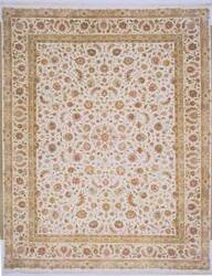 Lotfy and Sons Blossom 13 Ivory/Ivory Area Rug