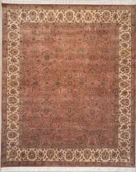 Lotfy and Sons Vintage 133b Copper/Beige Area Rug
