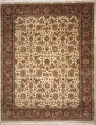 Lotfy and Sons Vintage 134b Gold/Red Area Rug