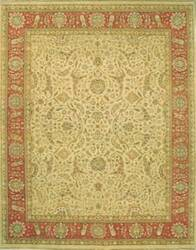 Lotfy and Sons Nuance 872 Light Gold/Rust Area Rug