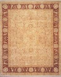 Lotfy and Sons Nuance 872 Sea Green/Red Area Rug