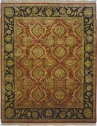 Lotfy and Sons Majestic Hs-17 Red/Black Area Rug