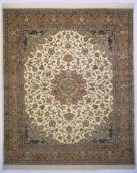 Lotfy and Sons Narmada 24 Ivory/Light Rose Area Rug