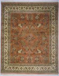 Lotfy and Sons Narmada 400 Light Rose/Ivory Area Rug