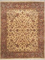 Lotfy and Sons Majestic 203 Gold/Rose Area Rug