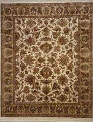 Lotfy and Sons Majestic S-17 Cream/Gold Area Rug