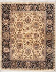 Lotfy and Sons Majestic 920 Gold/Black Area Rug