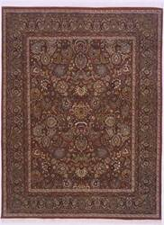 Lotfy and Sons Prestige Mashad Red/Blue Area Rug