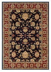 Lr Resources Adana 80716 Black - Red Area Rug