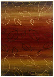 Lr Resources Adana 80904 Cherry - Light Brown Area Rug