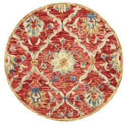 Lr Resources Dazzle 54070 Red Area Rug