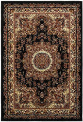 Lr Resources Grace 81113 Black - Cream Area Rug