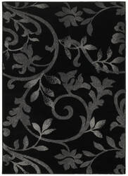 Lr Resources Grace 81132 Black Area Rug