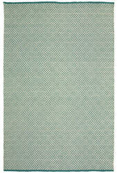 Lr Resources Inside-Out 81226 Teal Area Rug