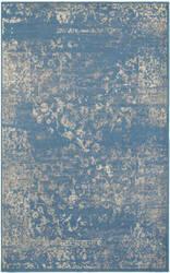 Lr Resources Matrix 81176 Blue - Light Beige Area Rug