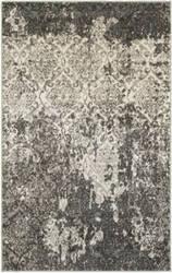 Lr Resources Matrix 81191 Stone - Silver Blue Area Rug
