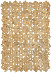 Lr Resources Natural Jute 32010 Natural Area Rug