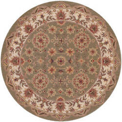 Lr Resources Shapes 10564 Green - Ivory Area Rug