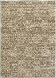 Lr Resources Soft Shag 81162 Dark Beige - Cream Area Rug