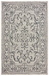 Lr Resources Sunshower 81245 Beige - Black Area Rug