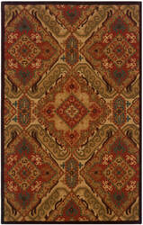 LR Resources Dazzle Lr54007 Red Area Rug