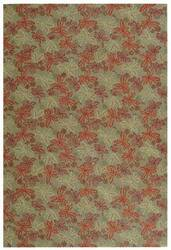Martha Stewart by Safavieh MSR2320B CRIMSON / CLOVER Area Rug