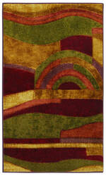 Mohawk Home New Wave Picasso Wine Area Rug