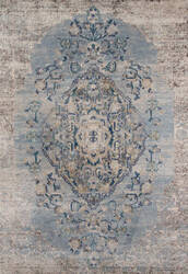 Momeni Amelia Am-02 Light Blue Area Rug