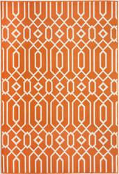 Momeni Baja Baj-3 Orange Area Rug