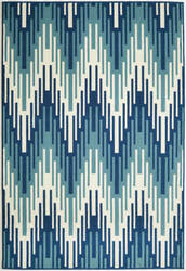 Momeni Baja Baj-6 Blue Area Rug