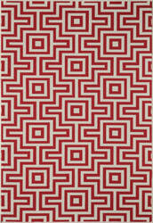 Momeni Baja Baj10 Red Area Rug
