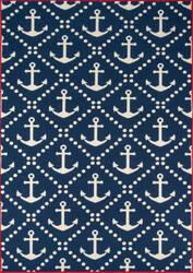 Momeni Baja Baj16 Navy Area Rug
