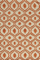 Momeni Bliss Bs-09 Orange Area Rug
