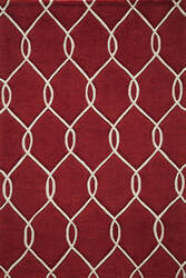 Momeni Bliss Bs-12 Red Area Rug