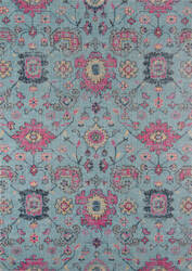 Momeni Jewel Jw-01 Blue Area Rug