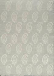 Momeni Lace Embroided Lac-1 Silver Area Rug
