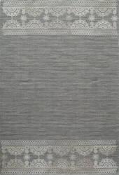 Momeni Lace Embroided Lac-2 Grey Area Rug