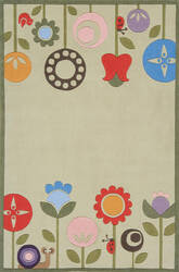 Momeni Lil Mo Whimsy Lmj-7 Grass Area Rug