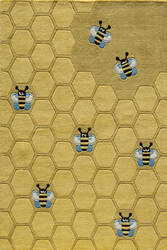 Momeni Lil Mo Whimsy Lmj15 Honeycomb Gold Area Rug