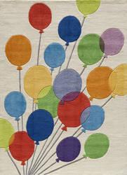 Momeni Lil Mo Whimsy Lmj16 Multi Balloons Area Rug