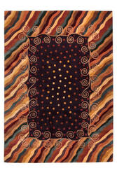 Momeni New Wave Nw-12 Purple Area Rug