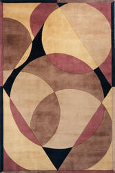 Momeni New Wave Nw-78 Brown Area Rug